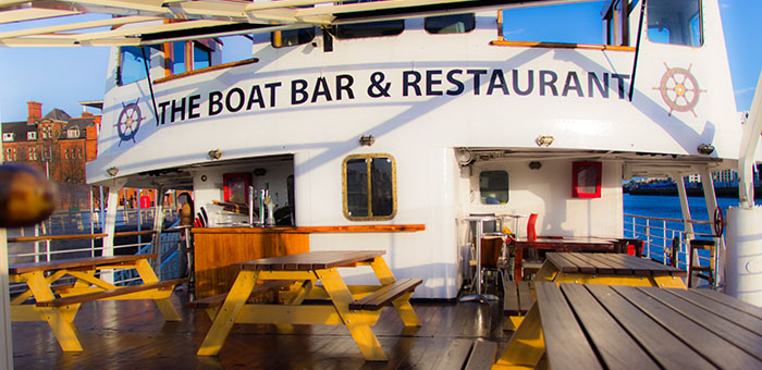 Summer BBQ's at the MV Cill Airne Boat Bar and Restaurant Dublin