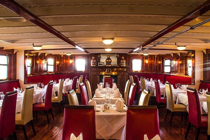 Quay 16 Restaurant - MV Cill Airne Boat Bar